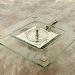 """Zimmerbrunnen """"Kleopatra"""" 37 x 37 cm, Silberecken"""