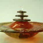 """Zimmerbrunnen """"Hator"""" mit Kaskade, Durchm. 36 oder 42 cm"""